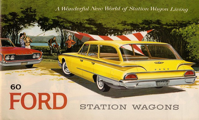 1960 Ford Station Wagons brochure cover
