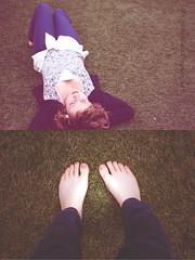 wet bum, cold feet