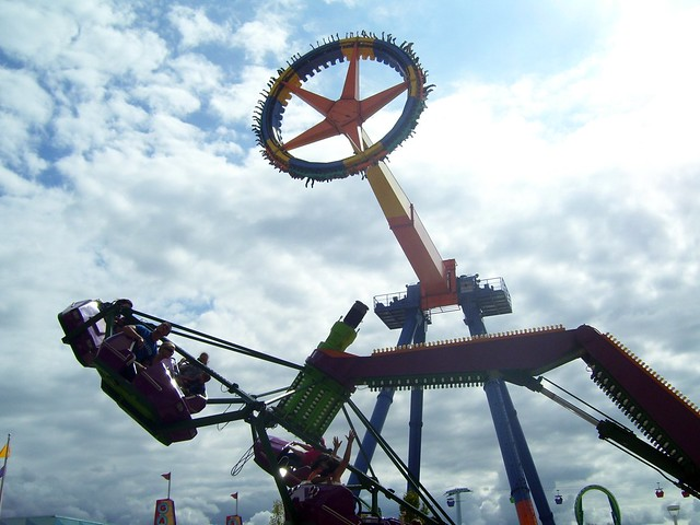 Cedar Point - MaXair and Troika