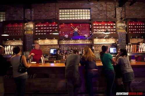 BAR AT BROOKLYN BOWL TWESTIVAL NYC 2009