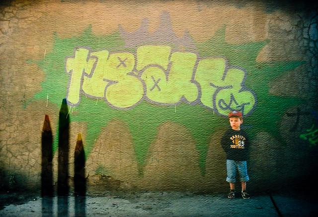 Axel & le grafitti