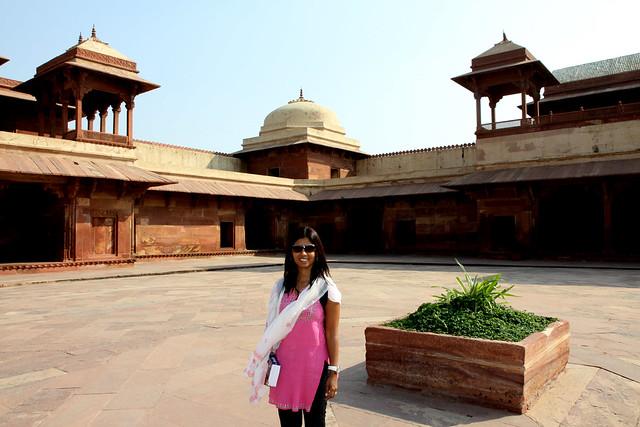 jodha bai palace fateh pur sikri
