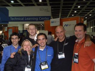 Jen, Giorgio, Leandro, Jukka & Italian MSPs