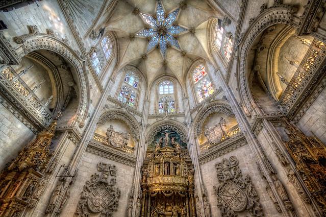 Burgos Cathedral - Catedral de Burgos HDR 4