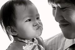 Xuenxuen & her dad