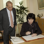 Visit from Ms Doris Leuthard, President of the Swiss Confederation