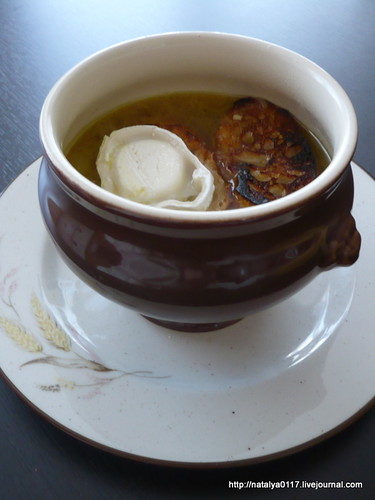 natalya cooking soupe l 39 oignon french onion soup. Black Bedroom Furniture Sets. Home Design Ideas