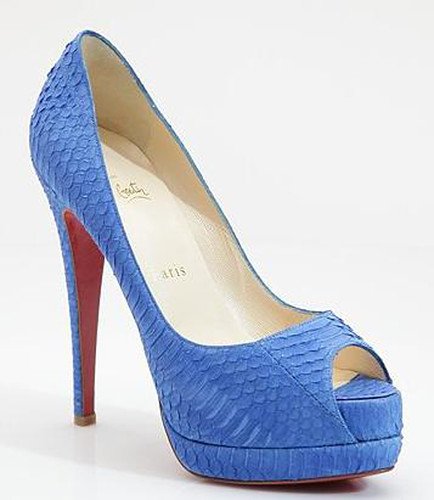 45a7bc426d Christian Louboutin Altadama Watersnake Platform Pumps by christian  louboutin sale