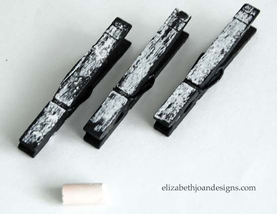 Chalkboard Clothes Pins 2