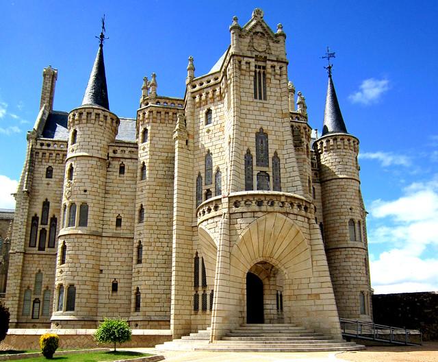Palacio Episcopal, Astorga, Castilla y León, España.