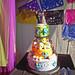 Dia Day Los Muertos Heavy Metal Wedding Cake by Broken Sparrow Cakes