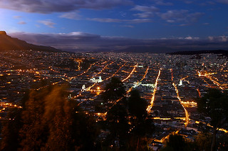 Grid of Quito