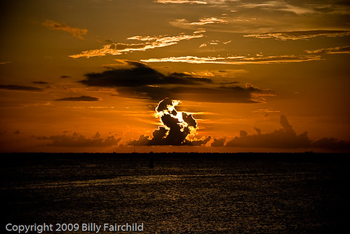 ocean blue sunset wild sky orange sun water beautiful beauty yellow set clouds ball wonderful mexico fire bay amazing gulf charlotte dusk gorgeous punta gorda nikond60 noticings 28photos 28photoscom photographybybillyfairchild