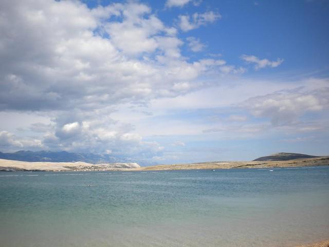 La spiagga di Zrce