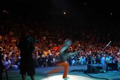 Richie Scarlet Running Around in front of 20k people