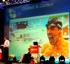Nadella shows current popular content in Image Search: Michael Phelps by Si1very