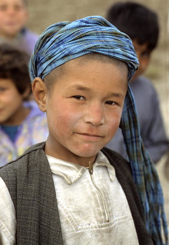 Afghan Boy at Mazar-e-Sharif (photo: United Nations Photo, flickr)