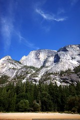 half dome from mirror lake    MG 4115