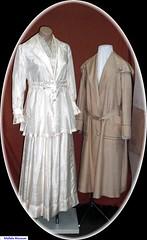 Wedding Dress & Dust Coat 1917