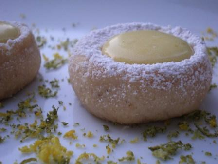Thumbprint Lemon-Lime Meltaway Cookies | Flickr - Photo Sharing!
