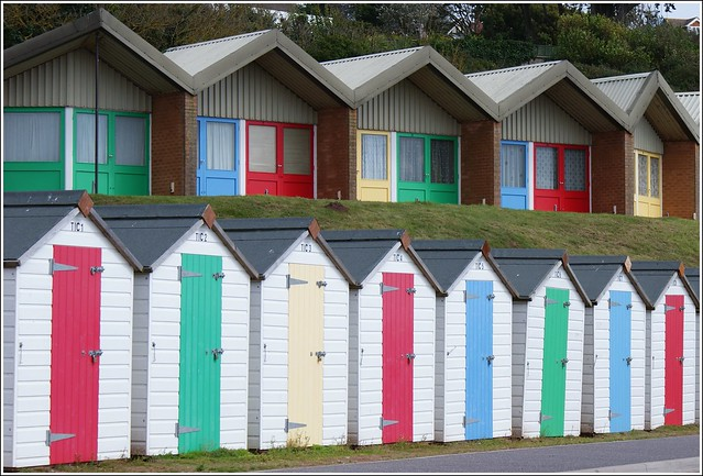 Beach Huts, Exmouth