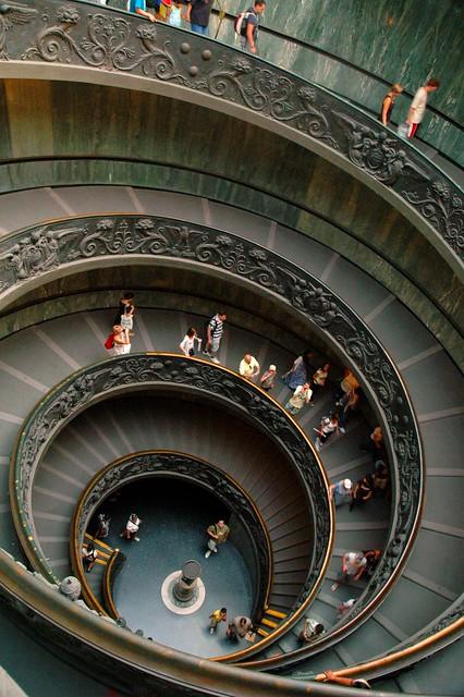 Giuseppe Momo's Double Spiral Stairway