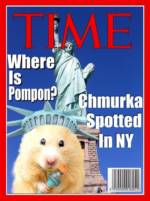 Chmurka comes to......