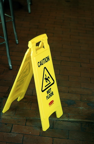 """Caution Wet Floor"""