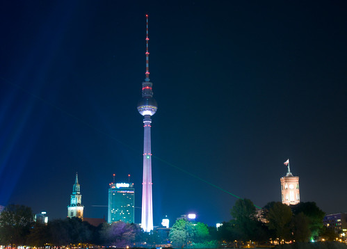 Television Tower, Festival of Lights, Berlin, Germany