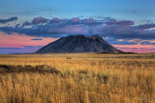 sunset usa landscape butte desert idaho reedmiller superaplus aplusphoto rhmiller