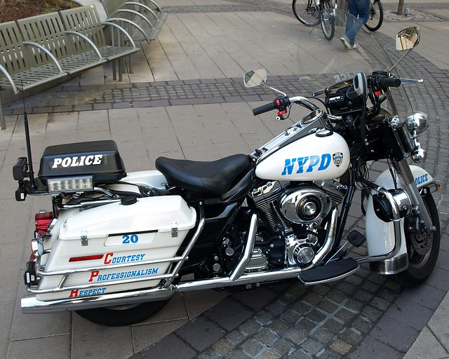 Nypd highway patrol motorcycle brooklyn new york city for Motor vehicle in brooklyn