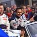 Simon Pagenaud, Pedro Lamy and Sebastien Bourdais Drivers of Team Peugeot Total's Peugeot 908 ©Dave Hamster