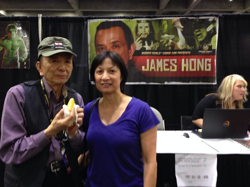 Actor James Hong and my BFF Laura Yuen. He's her uncle.