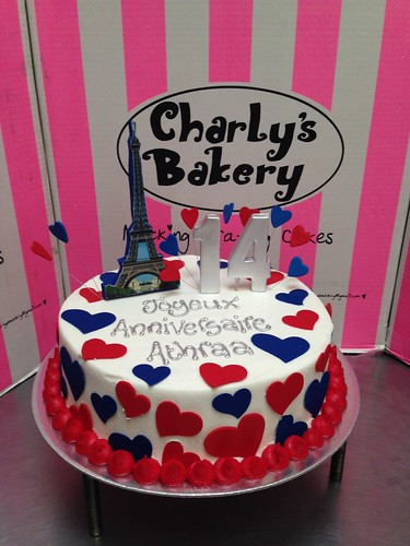 French Themed Birthday Cake French Themed Birthday Cake