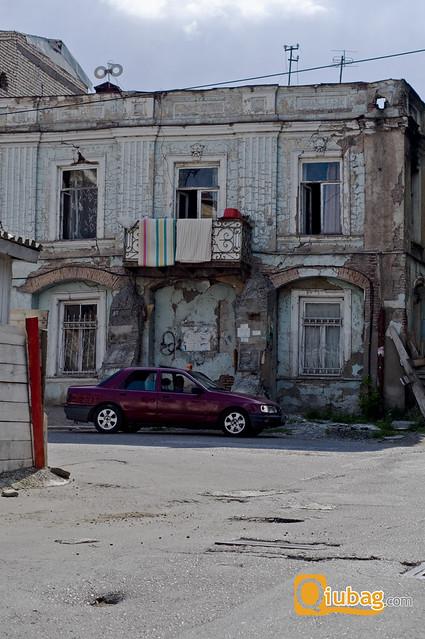 Stolica Gruzji Tbilisi - jeden z budynków w mieście