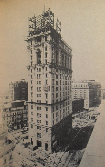 Times Square 1904 Times Tower Being Built Vintage New York City