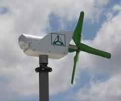 TechnoSpin's ComSpin S1 Wind Turbine
