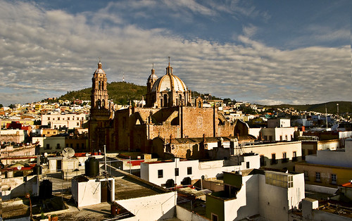 travel sky sun clouds sunrise mexico nikon cathedral zacatecas 2009 d300