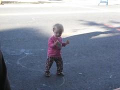 child, asphalt, day, toddler,
