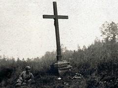 Offensive 1918 - calvaire de Gandelu - (photo VestPocket Kodak Marius Vasse 1891-1987)