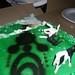 Small photo of Nikki & Noreen's Alien Abduction Cake