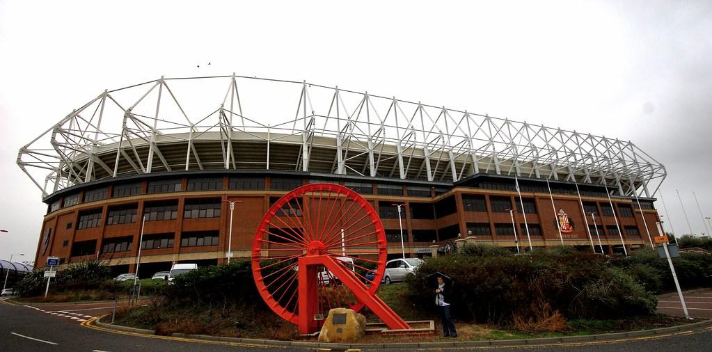 Stadium Of Light. Sunderland AFC.