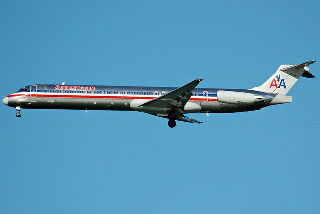 American Airlines S80 Jet http://www.flickr.com/photos/richsnyder/4025464962/