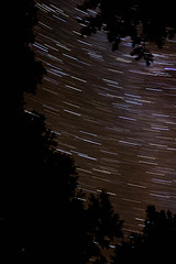 star trails from the campsite | by **katie**