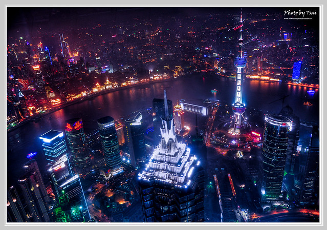 夜上海_HDR版(Shanghai Night View_HDR)