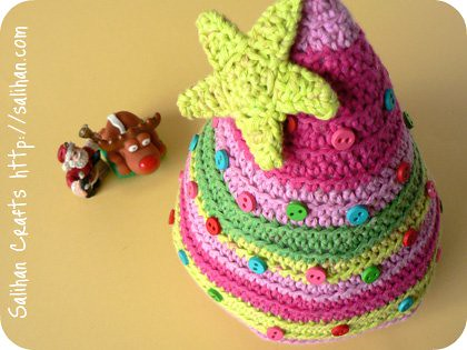 Free Crochet Christmas Tree Pattern - Planet M Files
