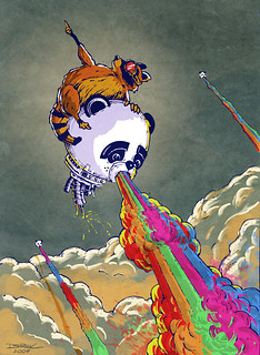 Rainbow Vomiting Pandas: The Escape
