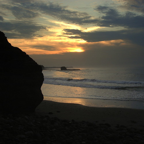 beach sunrise playa elsalvador the4elements eltunco elsunzal