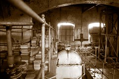 interiour gas valve room