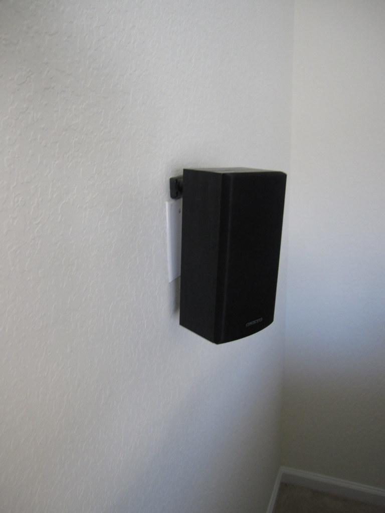 Incredible Speaker Mounted On Wall With In Wall Wiring Matt Harvey Flickr Wiring Digital Resources Bemuashebarightsorg